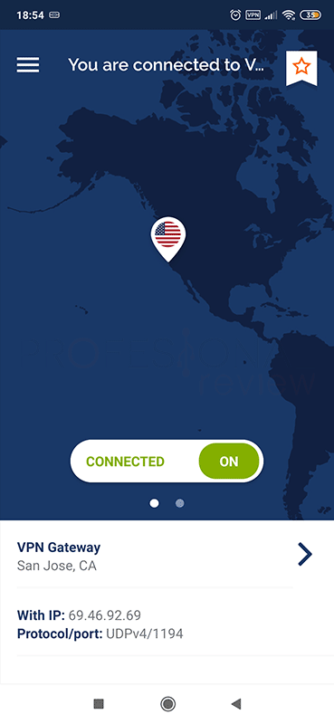 VPN para Android Private Tunnel