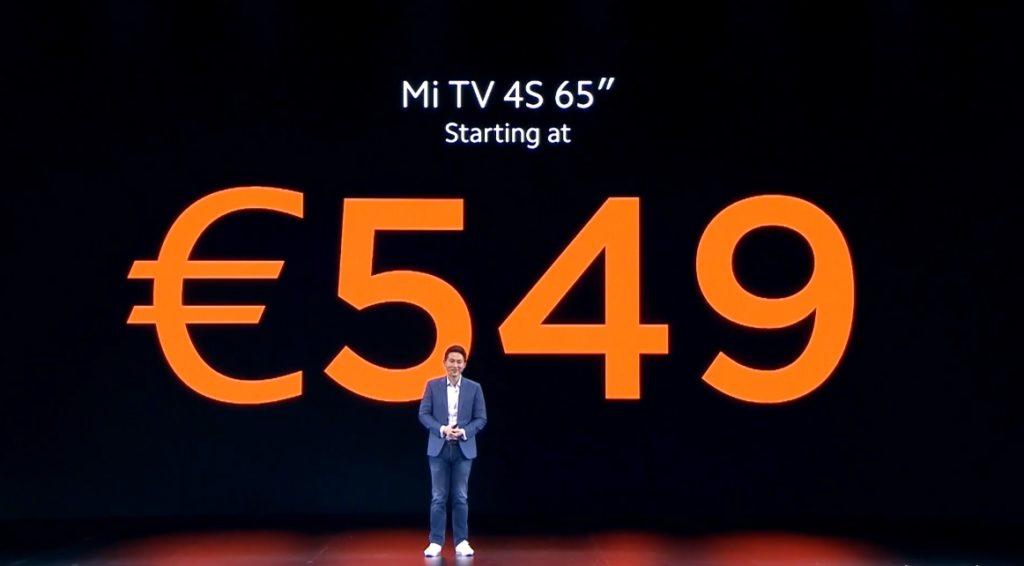 precio Xiaomi Mi TV 4S