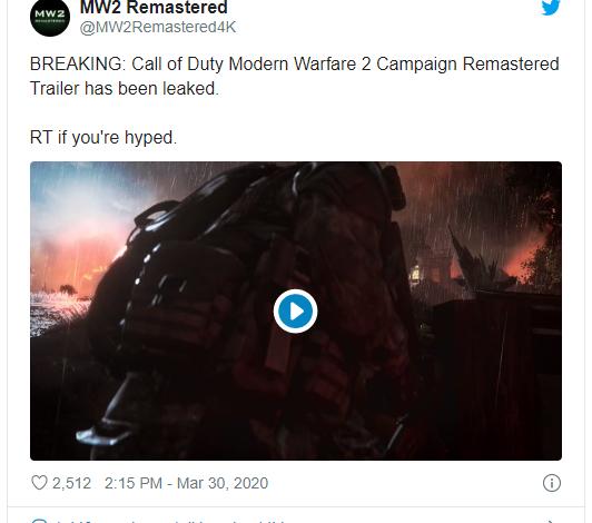 Photo of Call of Duty Modern Warfare 2: Campaing Remastered se lanza mañana