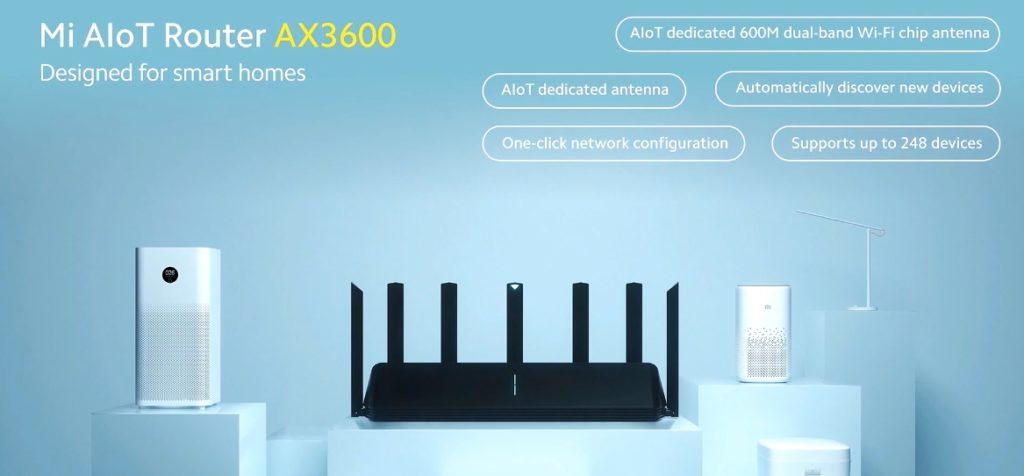 router Xiaomi primer Wi-Fi 6