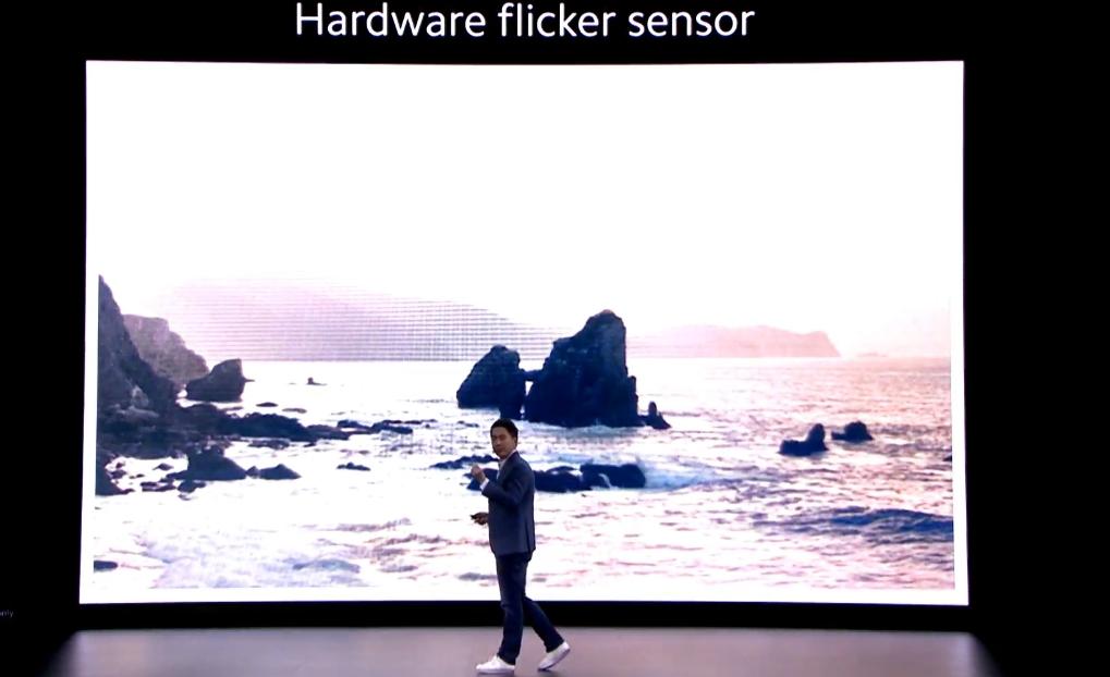mi 10 flicker sensor