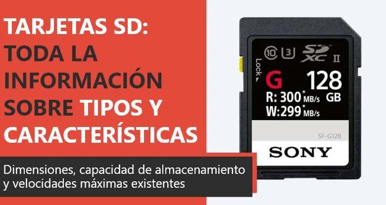 Photo of Tarjeta SD: toda la información sobre sus tipos y características
