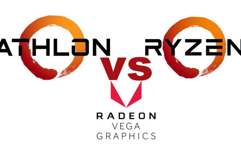 Photo of AMD Athlon vs AMD Ryzen – Cuál debes elegir, comparativa en rendimiento y gráficos