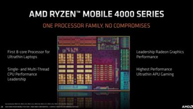 Photo of AMD Ryzen 9 4900H aparece en 3DMark y supera al i9-10980HK