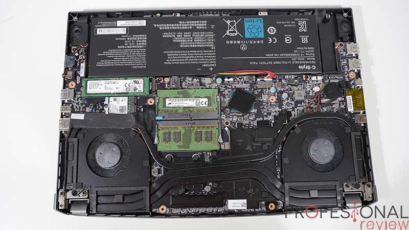 AORUS 15G XB Hardware