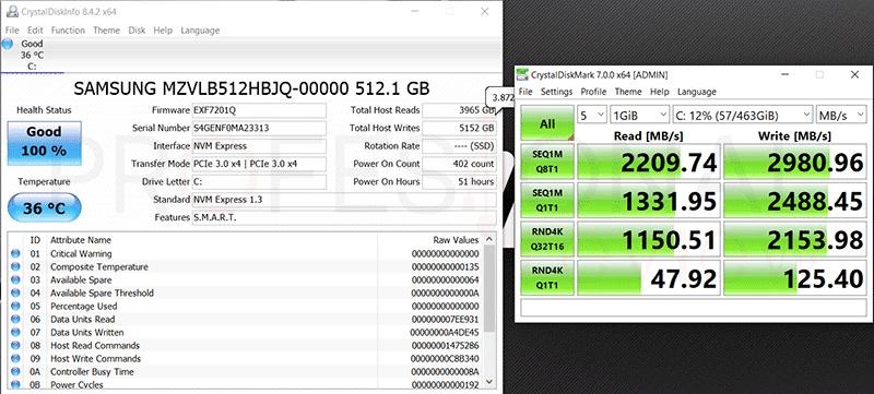 AORUS 15G XB SSD