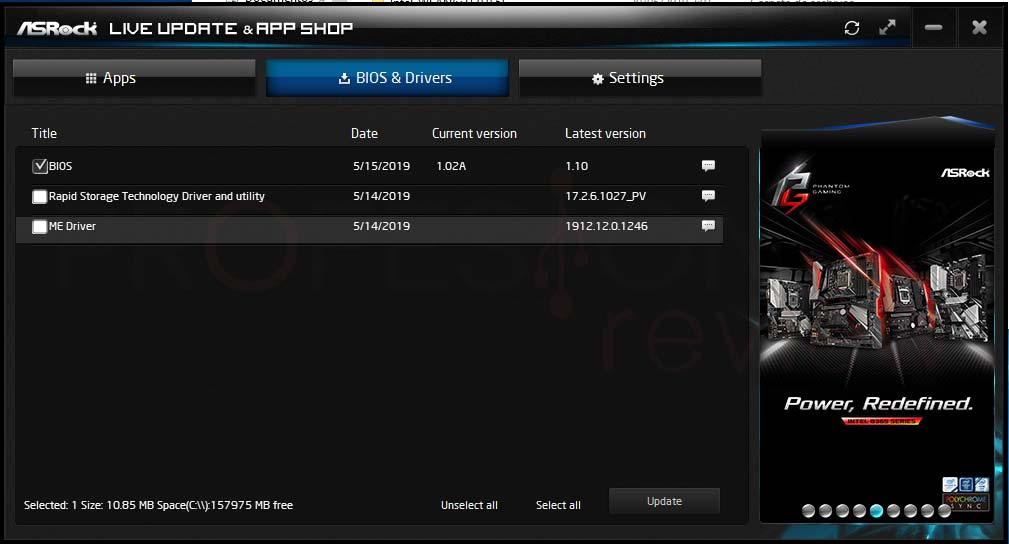 Actualizar BIOS ASRock paso14