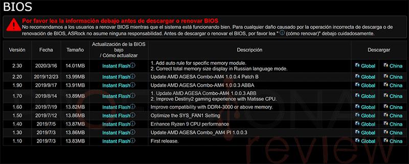 Actualizar BIOS ASRock paso06