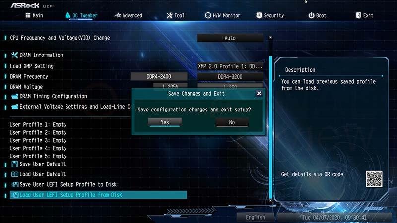 Actualizar BIOS ASRock paso12