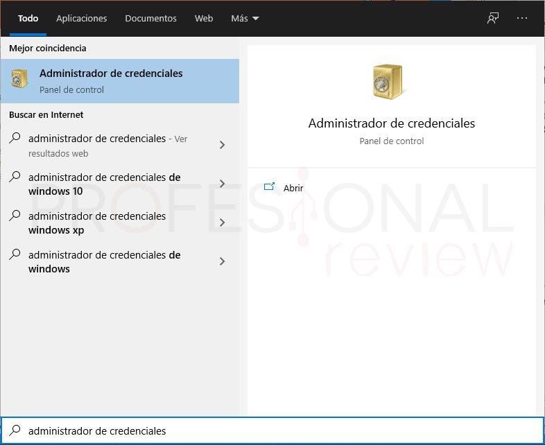 Saber contraseñas guardadas en mi PC paso01