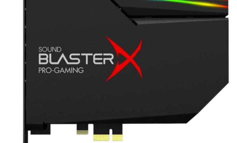 Photo of Creative Sound BlasterX AE-5 Plus: la nueva tarjeta de sonido gaming