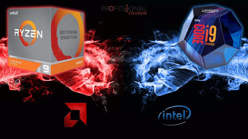 Procesadores Intel vs AMD Ryzen