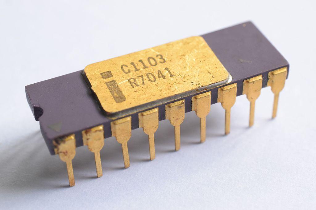 Intel 1103 primer DRAM