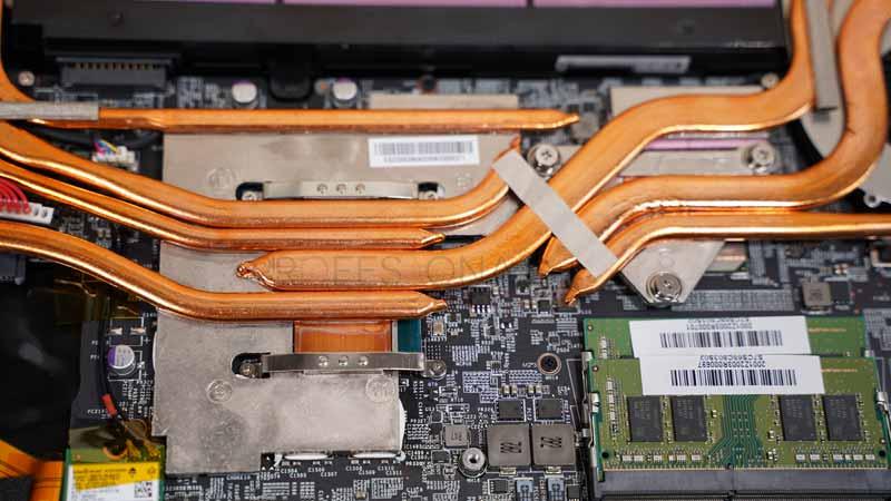 MSI GP75 Leopard 10SEK Refrigeración