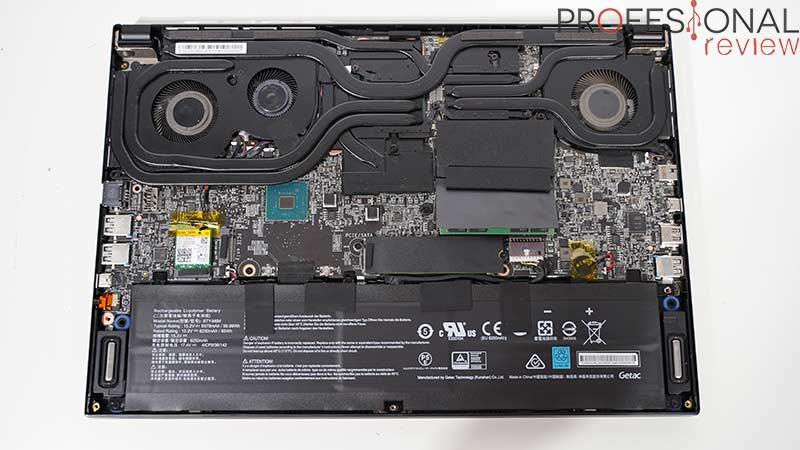 MSI GS66 Stealth 10SFS Hardware