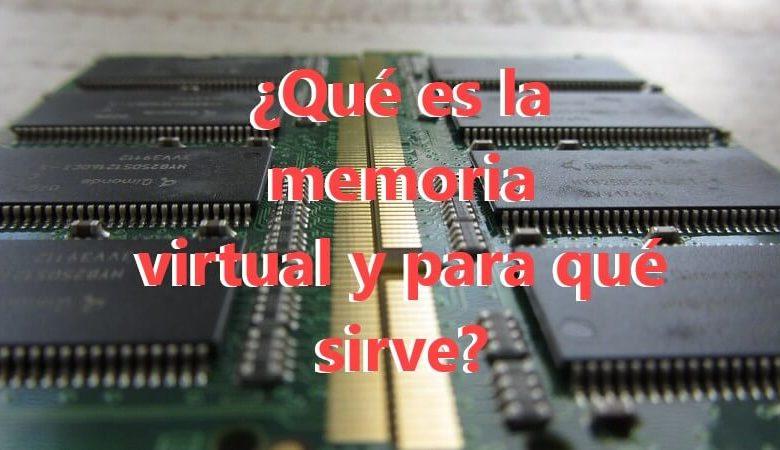 Photo of ¿Qué es la memoria virtual y para qué sirve?