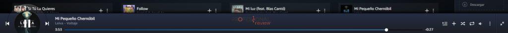 Reproductor Amazon Music