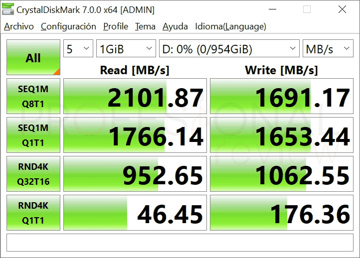 Silicon Power P34A60 Benchmark