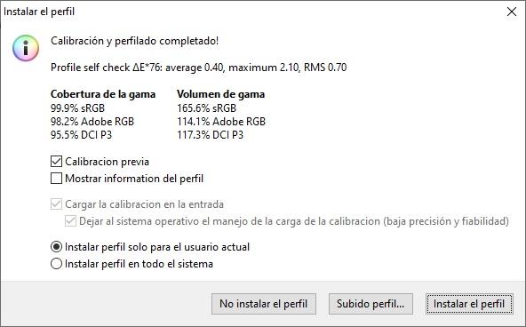 ViewSonic VP2785-2K calibración
