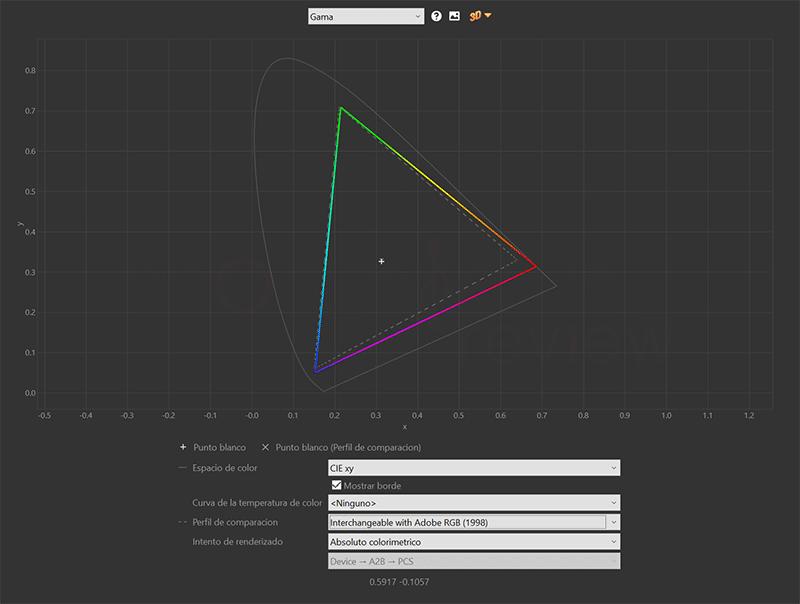 ViewSonic VP2785-2K Adobe RGB