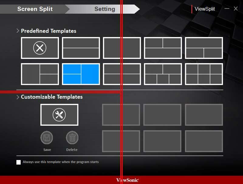 ViewSonic VP2785-2K Software