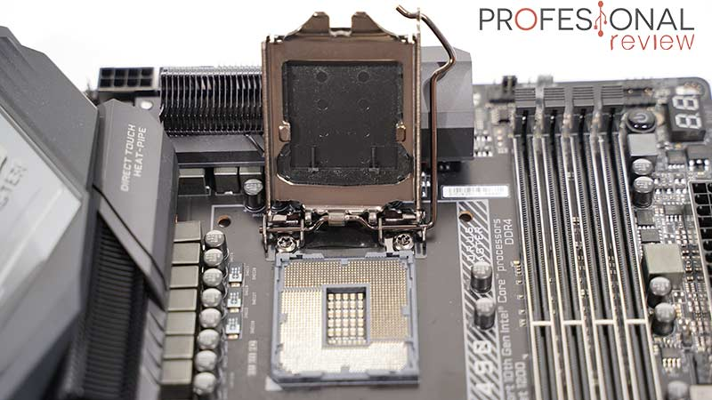 AORUS Z490I Ultra Socket