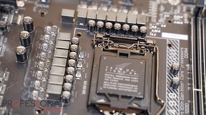 AORUS Z490I Ultra VRM