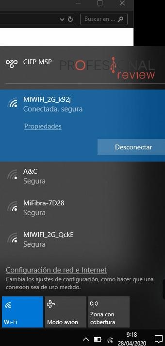 cómo eliminar red Wi-Fi