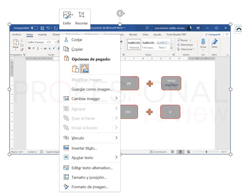 Hacer captura de pantalla en PC portátil paso07