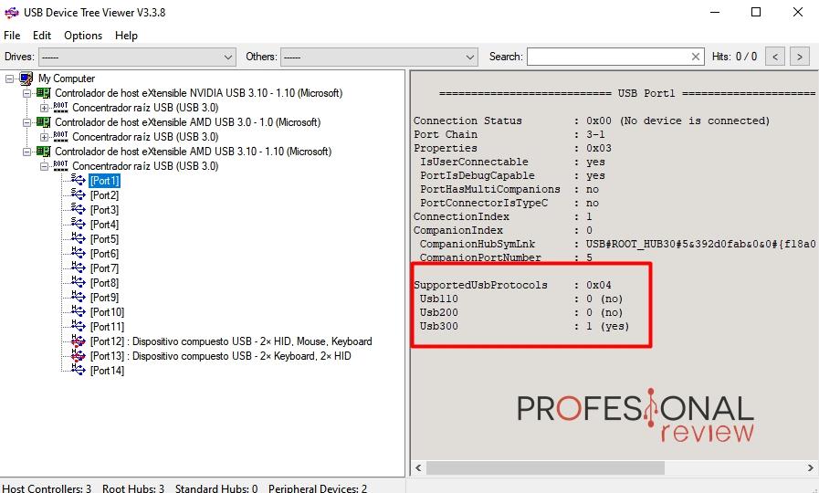 como saber si es USB 2.0 3.0 3.1