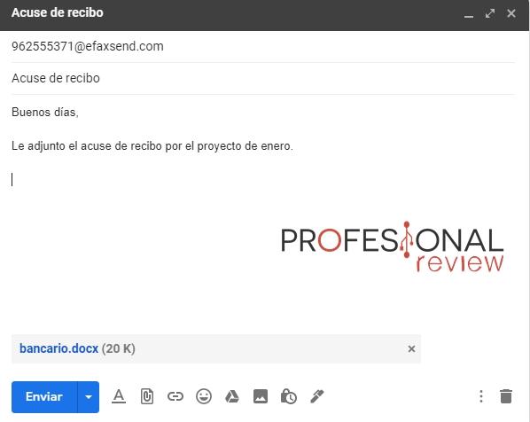 enviar fax desde gmail