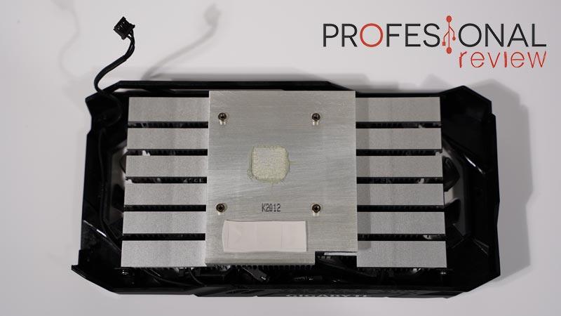 Gigabyte GTX 1650 D6 Windforce OC 4G Disipador