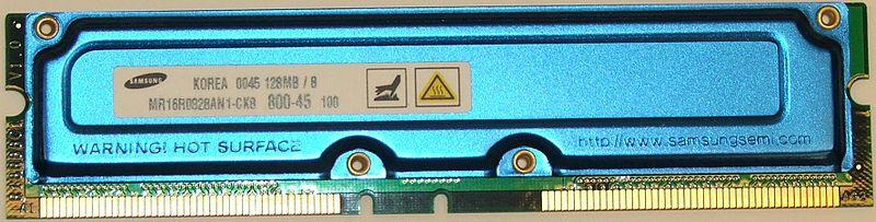 memoria RAMBUS RDRAM
