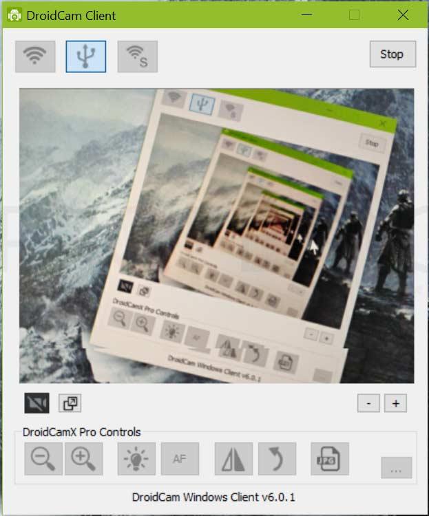Usar tu móvil como webcam paso11