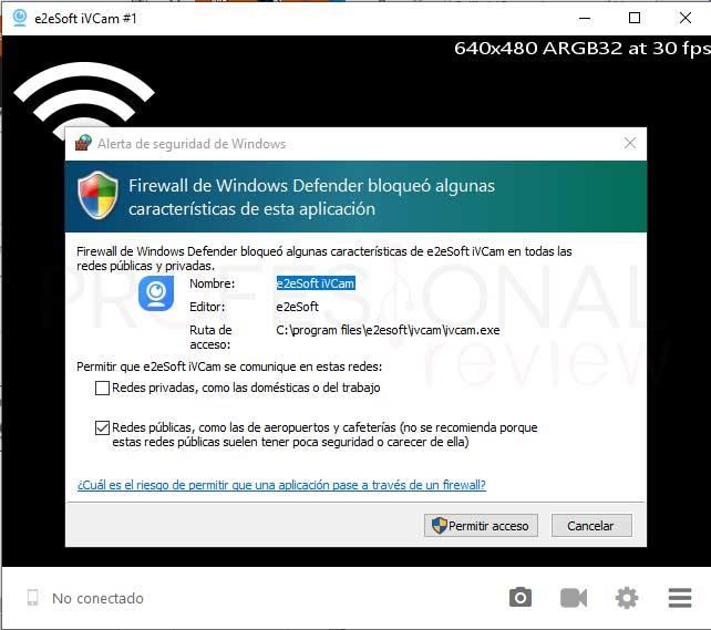 Usar tu móvil como webcam paso16