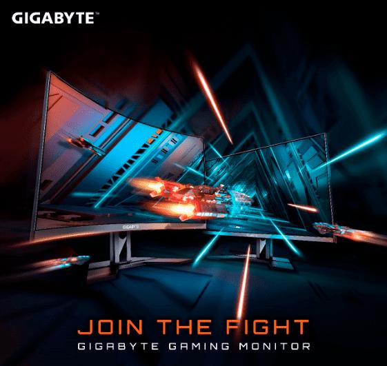 monitores gaming GIGABYTE