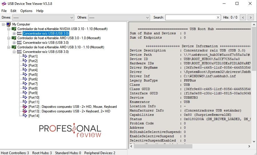 usb device tree viewer como saber usb es 3.0 3.1 2.0