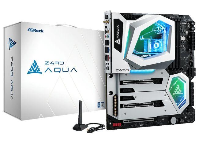 Photo of ASRock Z490 Aqua, Una exclusiva placa base con refrigeración liquida y PCIe 4.0