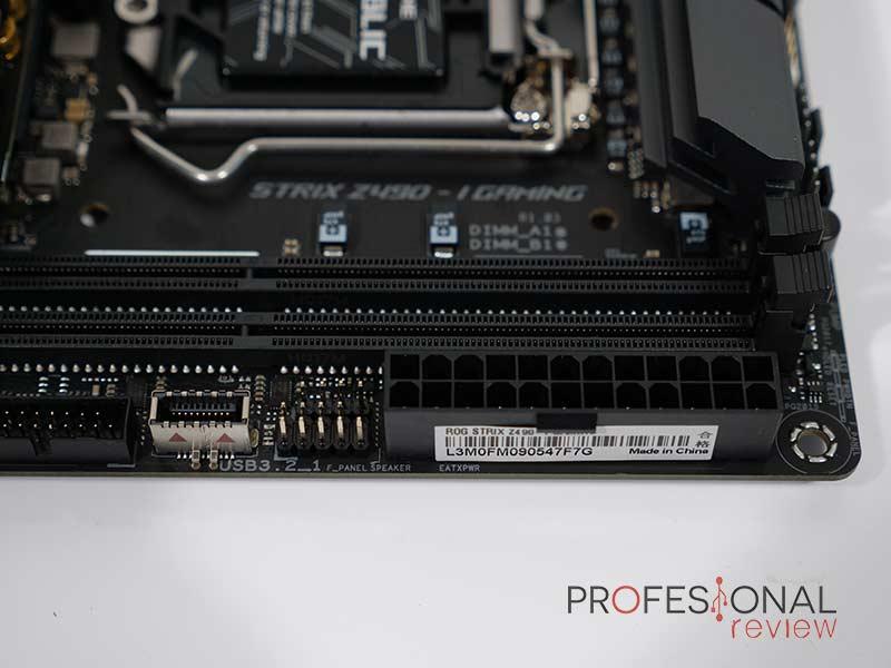 ASUS ROG STRIX Z490-I GAMING RAM