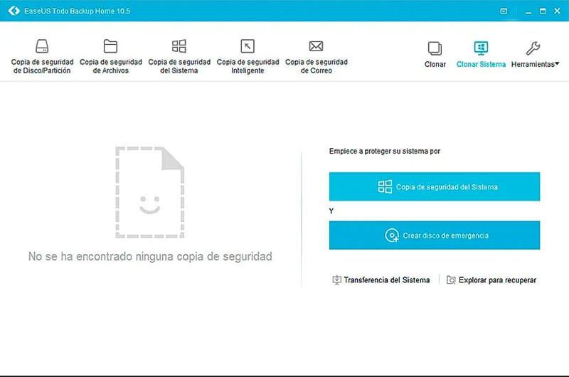backup de Windows