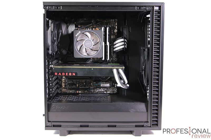 Fractal Define 7 Compact Black TG Montaje