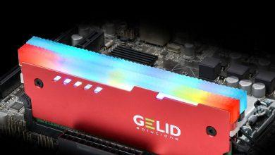 Photo of GELID Lumen, disipador de memoria RAM con iluminación RGB