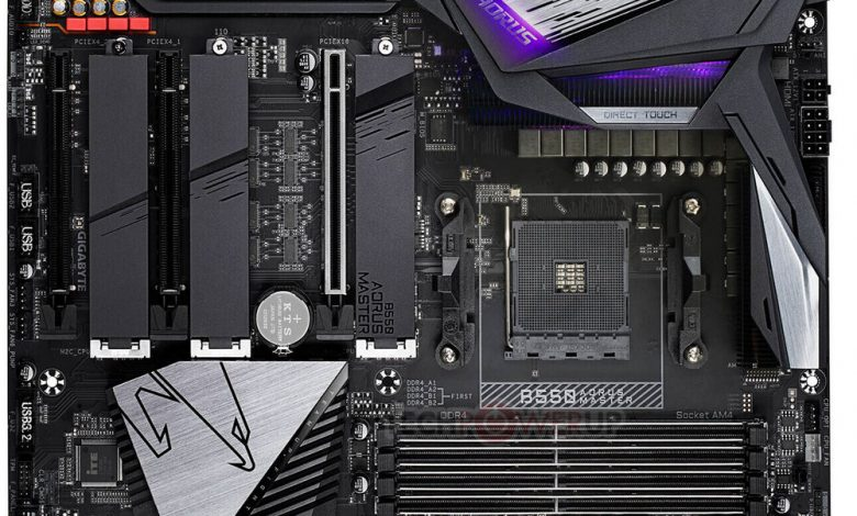 Photo of GIGABYTE B550 AORUS poseerá tres ranuras SSD M.2 PCIe 4.0