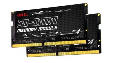 Photo of GeIL lanza los kits de memoria DDR4 SO-DIMM de 64GB