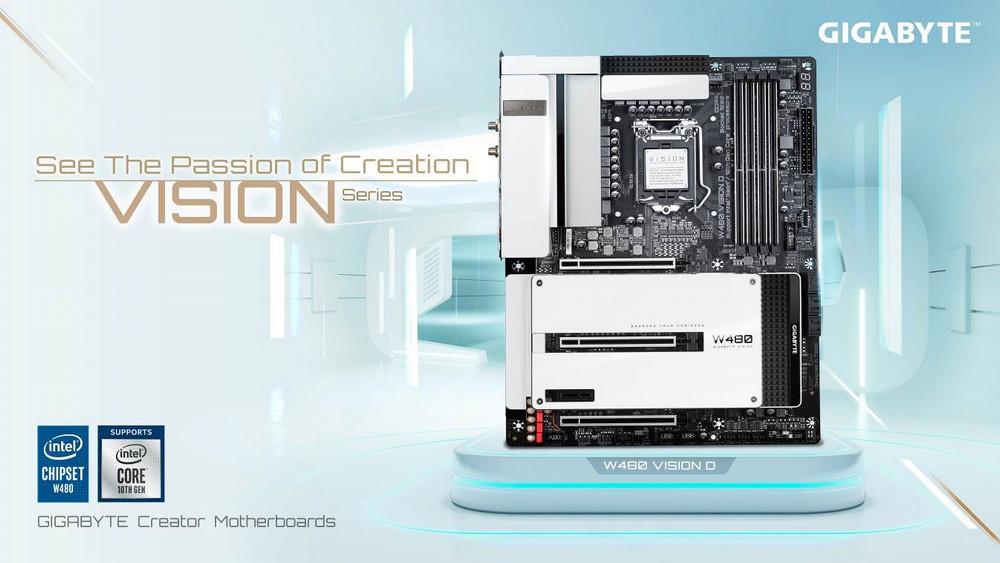 Gigabyte W480 Vision