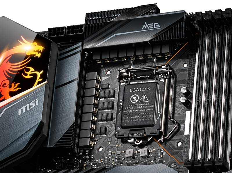 Intel Z490 VRM