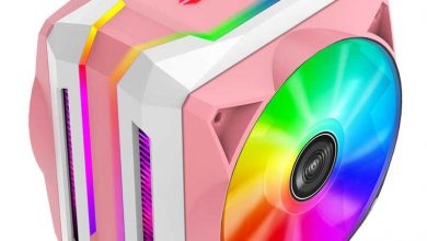 Photo of Jonsbo CR-1100 Pink, un notable refrigerador en color rosa y con RGB