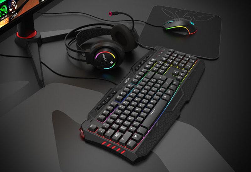 Krom Kritic RGB Rainbow Gaming Kit
