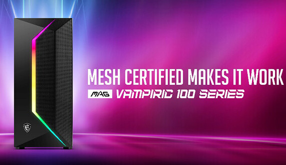 MSI MPG Gungnir 110 y MSI MAG Vampiric 100