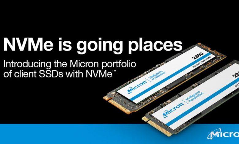 Photo of Micron 2300 y 2210, los primeros SSD NVMe QLC de la marca